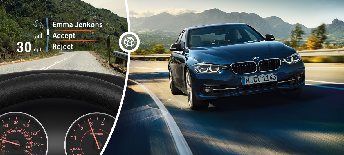 BMW 3 Series Sedan : Driver Assistance