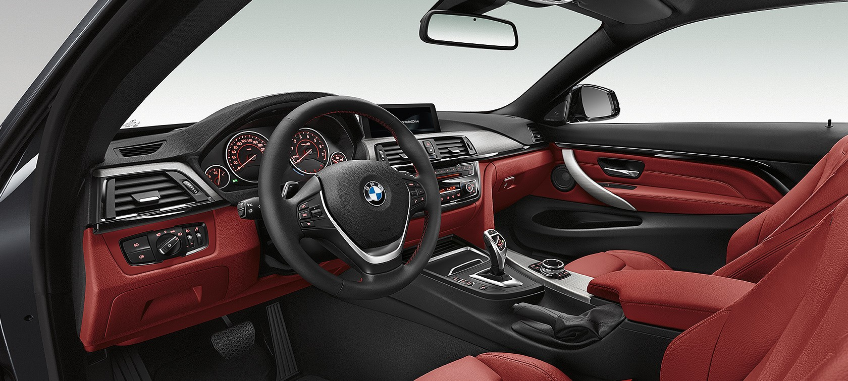 BMW Series Coupé Interior Design - Bmw 4 series interior