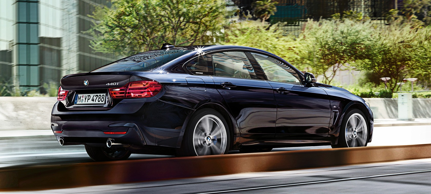 BMW Series Gran Coupé Lines Equipment - 2014 bmw 4 series gran coupe price