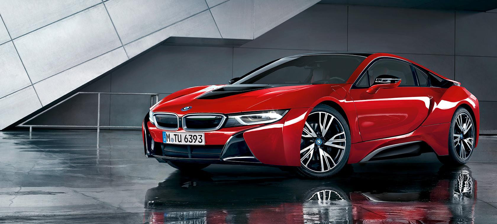 Bmw I Series Bmw I8 Protonic Red Edition