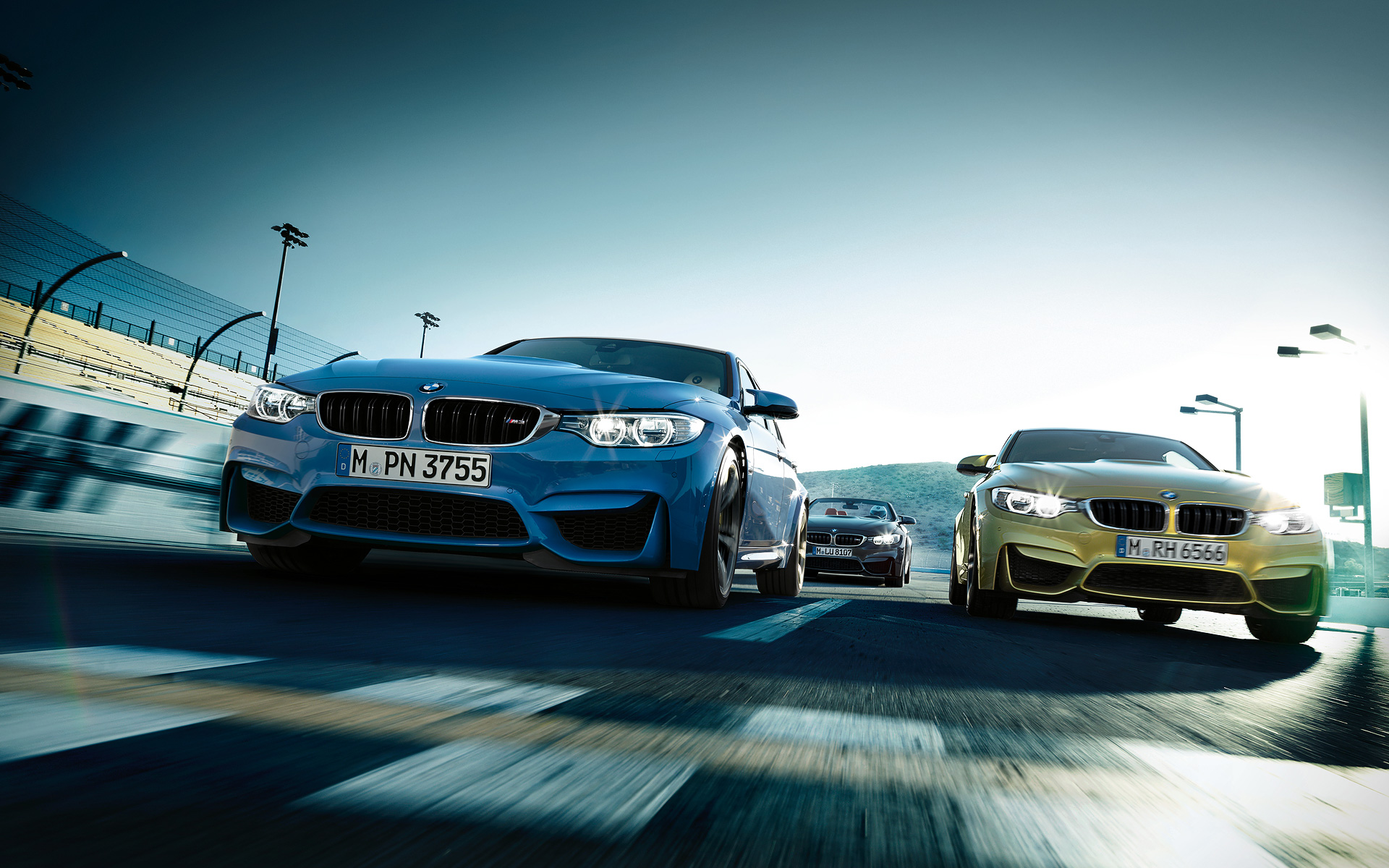 BMW M4 Convertible the First on road