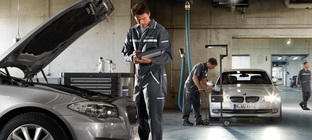 BMW Workshop Services : Vehicle Check & Maintenance
